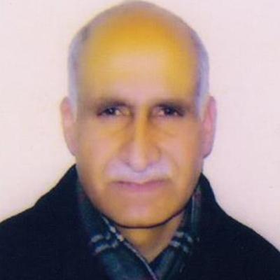 Ghulam Jeelani (Treasurer)